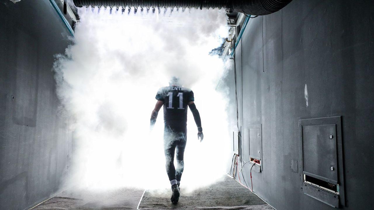 Carson Wentz is set to be in Philadelphia through the 2024 season