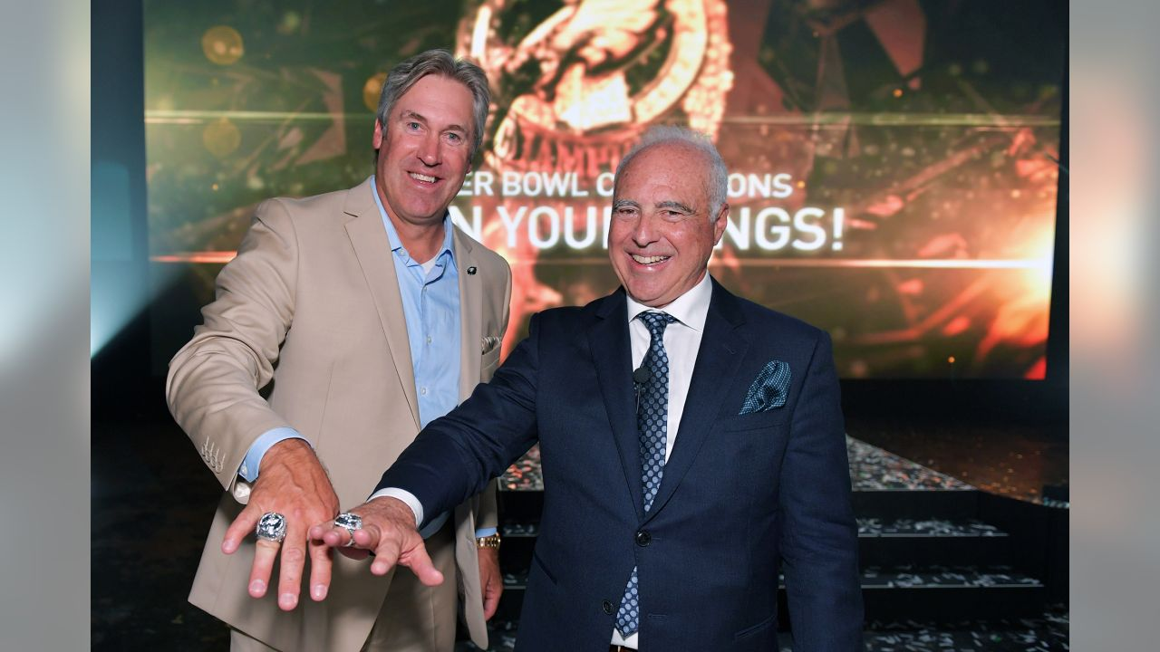 Head coach Doug Pederson and Chairman and CEO