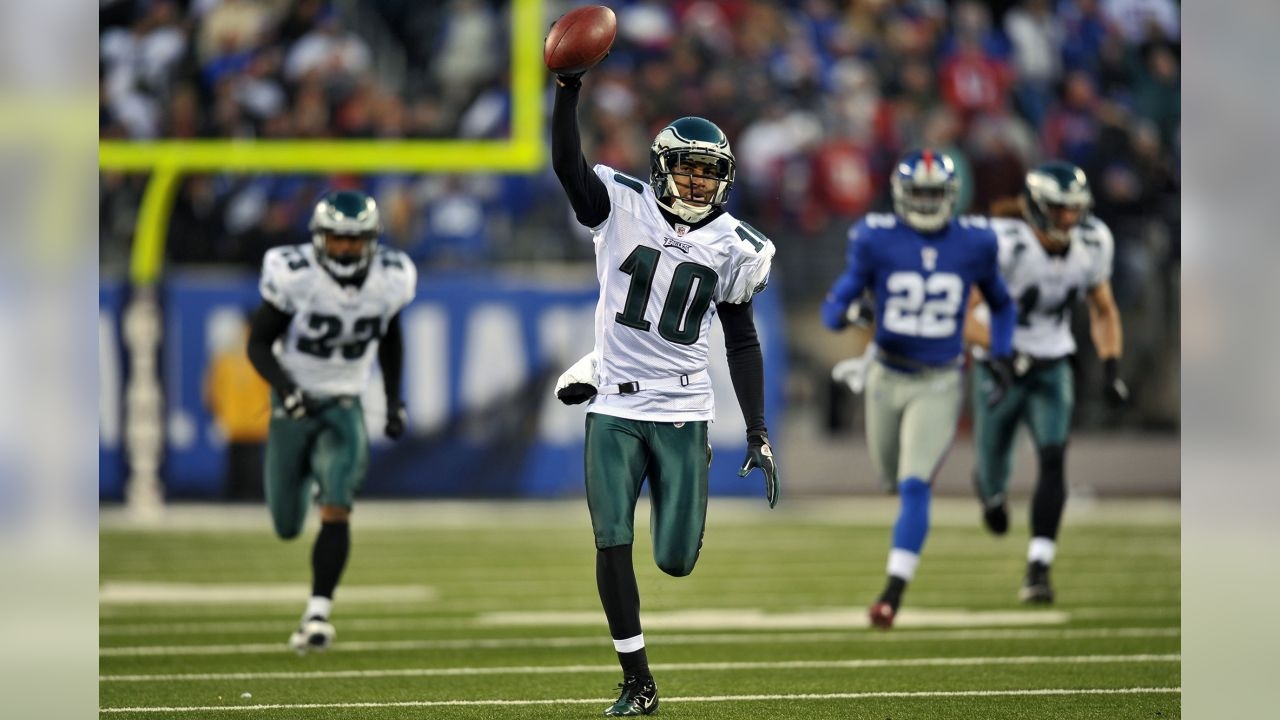 DeSean Jackson returning a punt for a touchdown to complete a miraculous comeback against the Giants in 2010