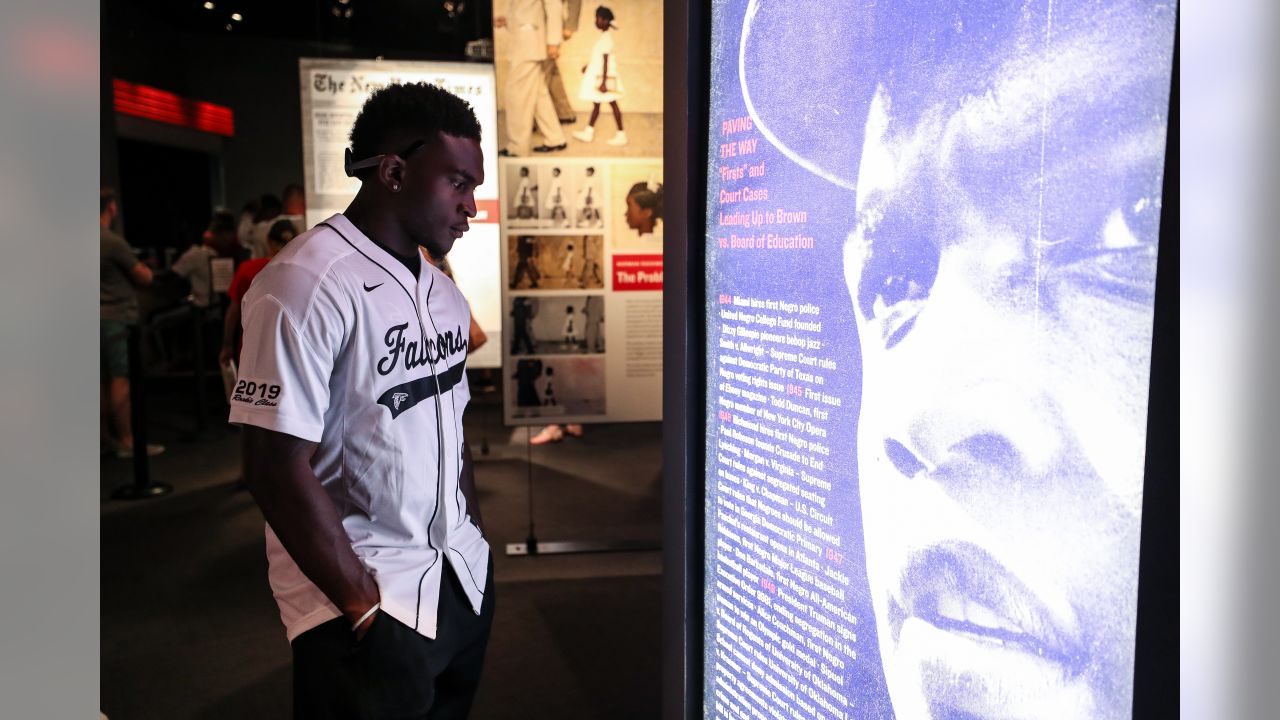 Rookie Class visits National Center for Civil and Human Rights