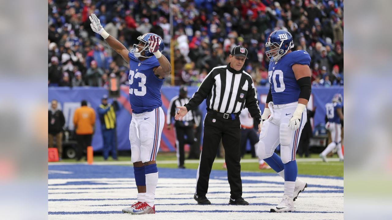 RB RASHAD JENNINGSIn the last two games, Jennings has 238 yards from scrimmage (172 rushing, 66 receiving). He also scored the Giants' first touchdown against the Bears on a two-yard run.