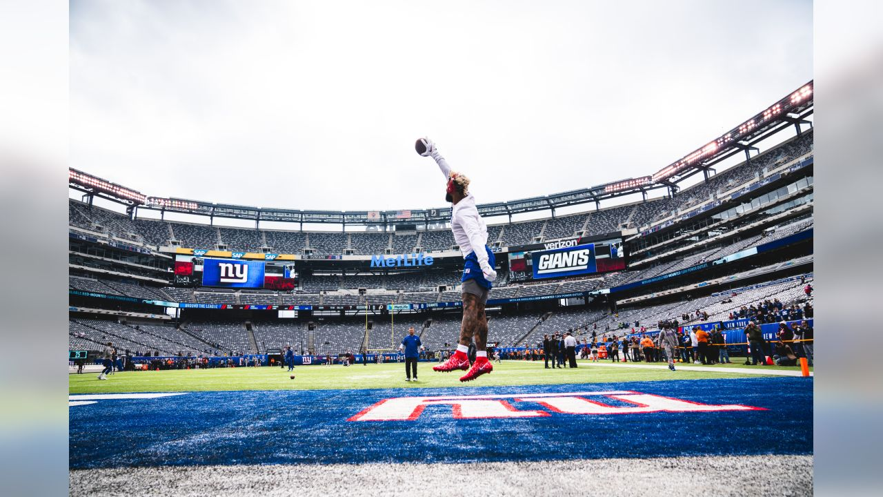 New York Giants during the 2018 regular season at Metlife Stadium vs Washington Redskins in East Rutherford, NJ