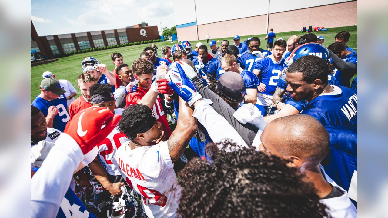 New York Giants OTA #1 at Quest Diagnostics Training Center in East Rutherford, NJ