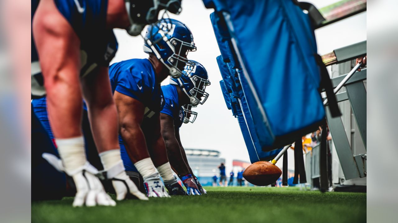 New York Giants Rookie Mini-Camp at Quest Diagnostics Training Center in East Rutherford, NJ