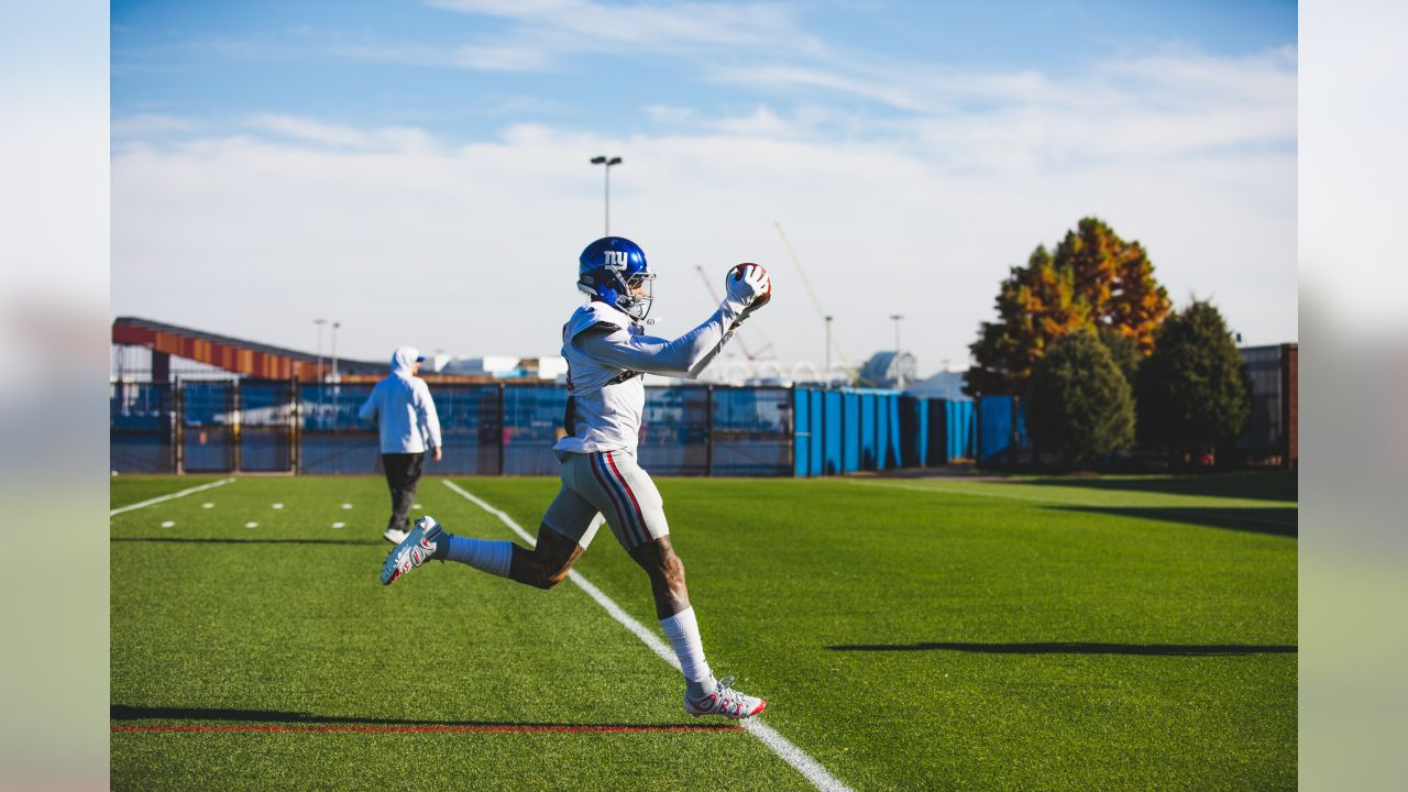 New York Giants In-Season Practice at Quest Diagnostics Training Center in East Rutherford, NJ
