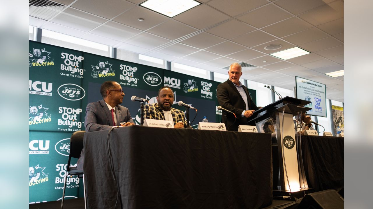 New York Jets Host Third Annual Jets Tackle Bullying Educators Symposium at MetLife Stadium on Friday, August 24, 2018.