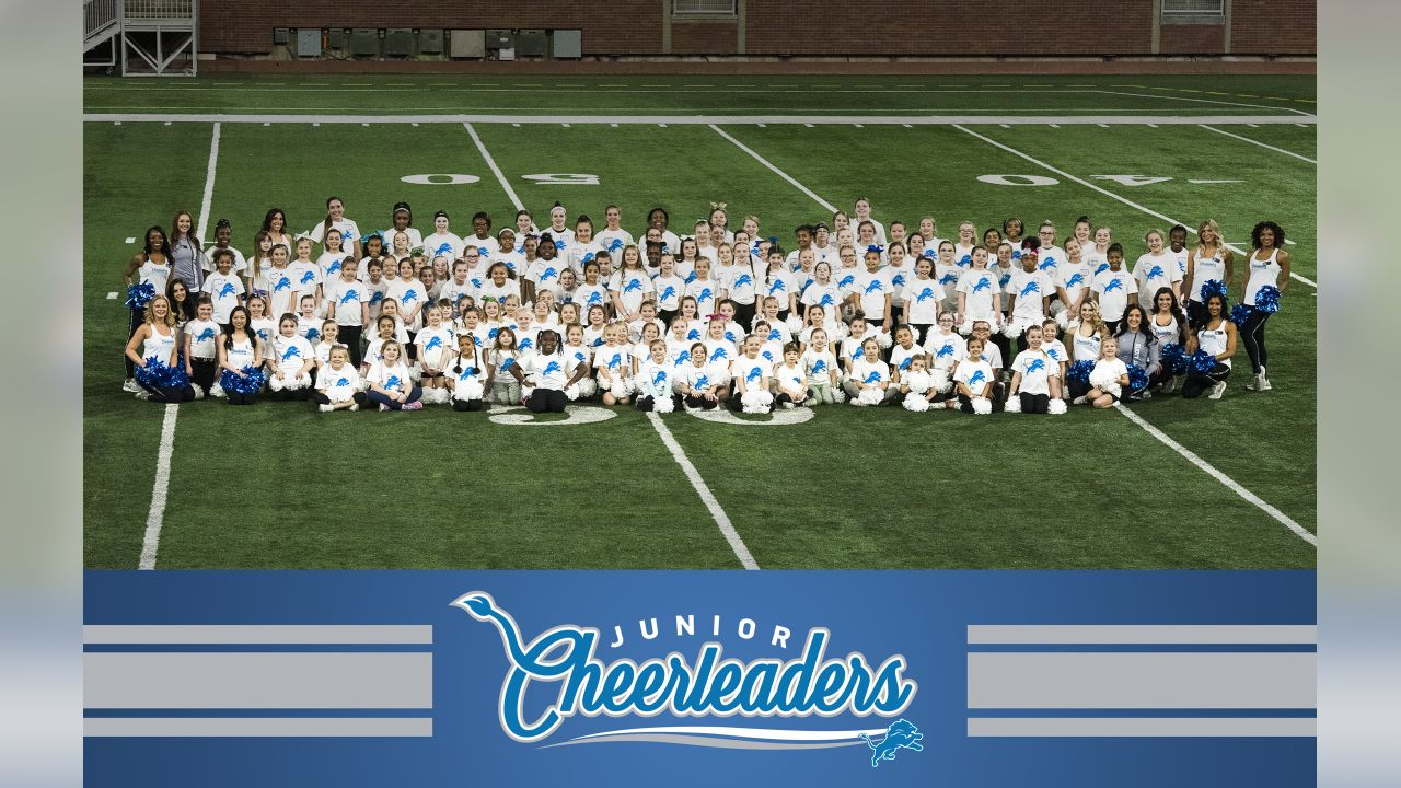 Participants at the 2019 spring junior cheer clinic on Sunday, March 17, 2019 in Detroit.