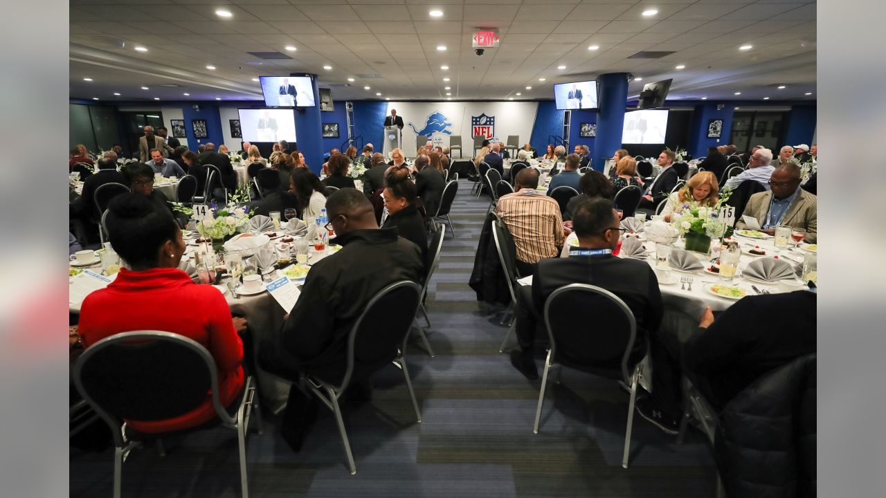 Lions Legends homecoming dinner presented by MGM Grand Detroit on Saturday, Oct. 27, 2018 in Detroit.