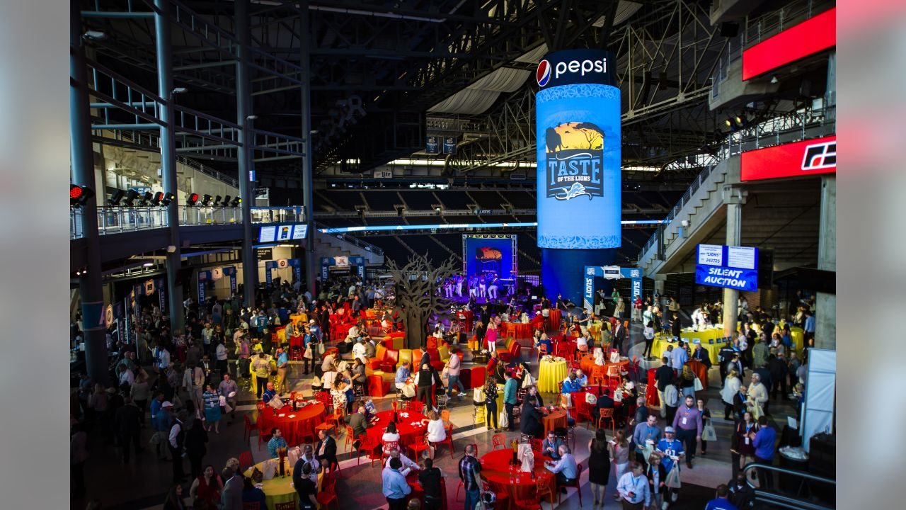 Taste of the Lions on Wednesday, May 15, 2019 in Detroit.