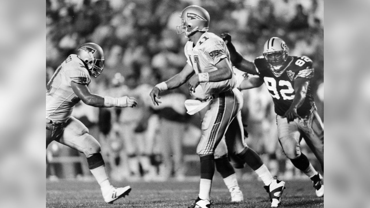 The last time the Packers played at New England in the preseason: August 20, 1993. Packers 17, Patriots 21. Photo by Vernon Biever.