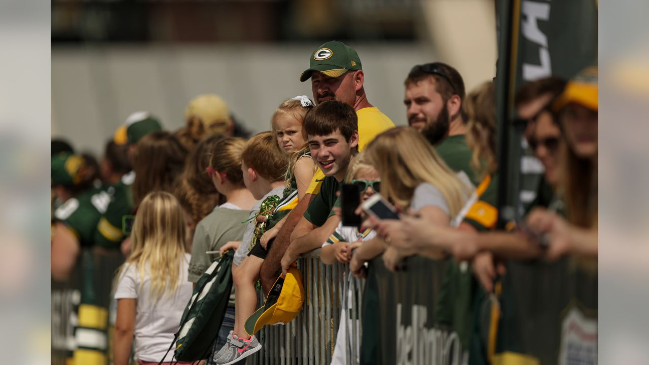 Green Bay Packers during training camp at Ray Nitschke Field on Friday, August 3, 2018.