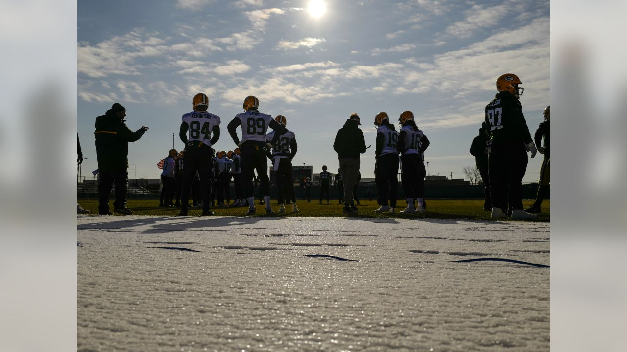 Green Bay Packers during practice on Wednesday, December 5, 2018.