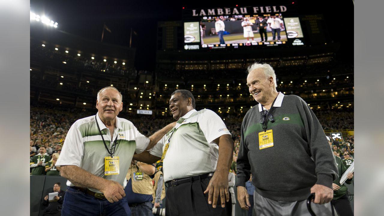 Jerry Kramer, Dave Robinson and Paul Hornung