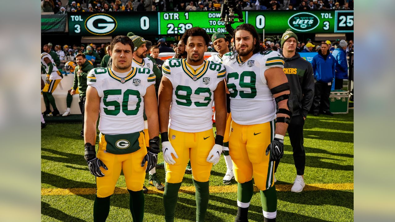 Week 16 at New York Jets   LB Blake Martinez, LB Reggie Gilbert, T David Bakhtiari