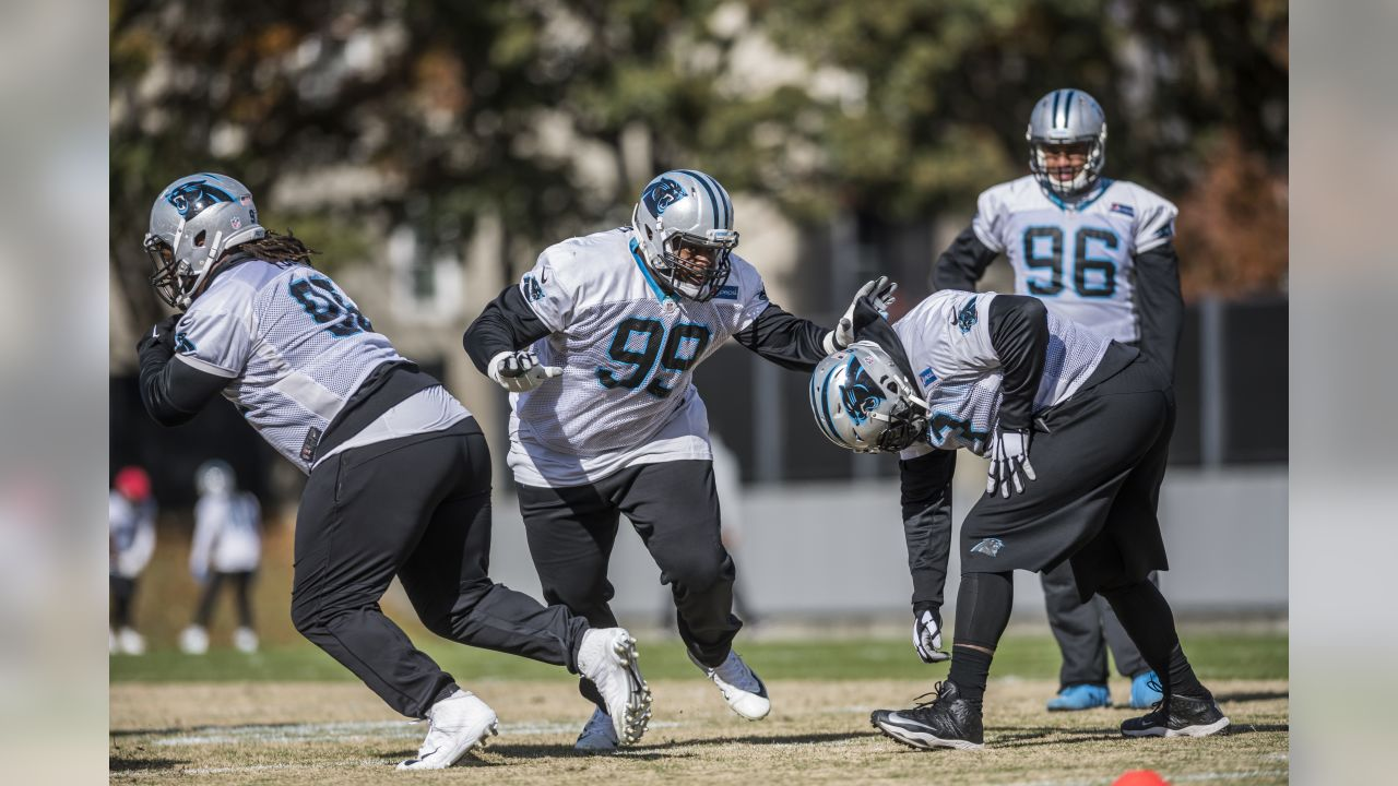 The Panthers practice for their week 14 game against the Browns on Wednesday, December 5, 2018.