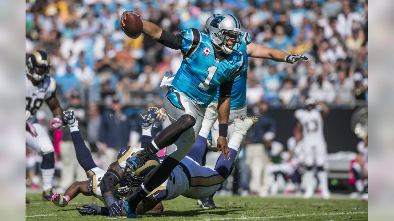 Carolina faces off against the Rams in the season opener. It marks the second consecutive season that the Panthers have started at home and the second time ever playing the Rams in a season opener.