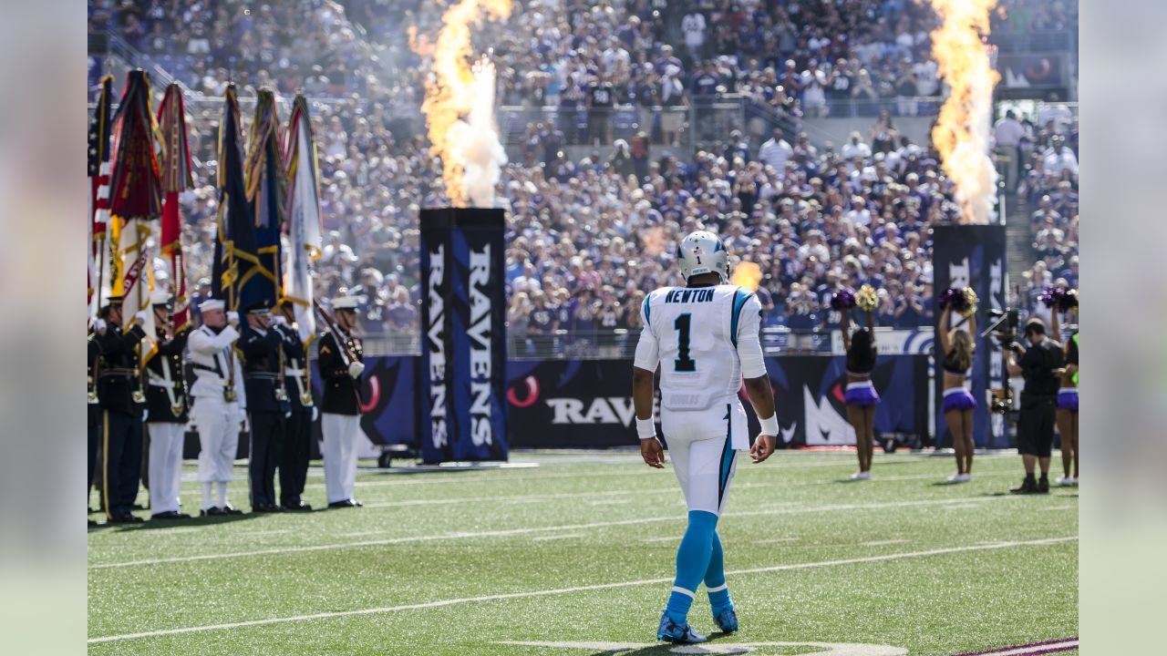 Carolina Panthers play against the Baltimore Ravens on Sunday, September 28, 2014 at M&T Bank Stadium in Baltimore, MD.