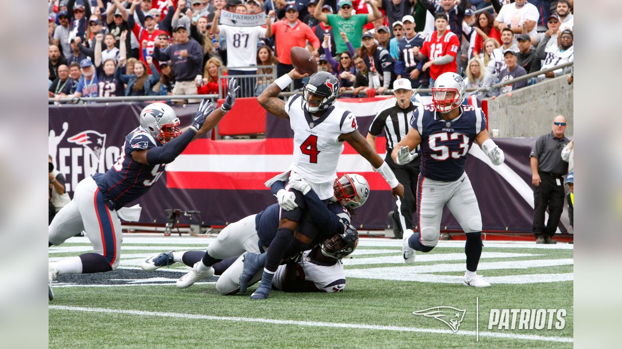 Week 1 vs. Houston Texans The defense contained Deshaun Watson and the Texans in a 27-20 win to open the season.