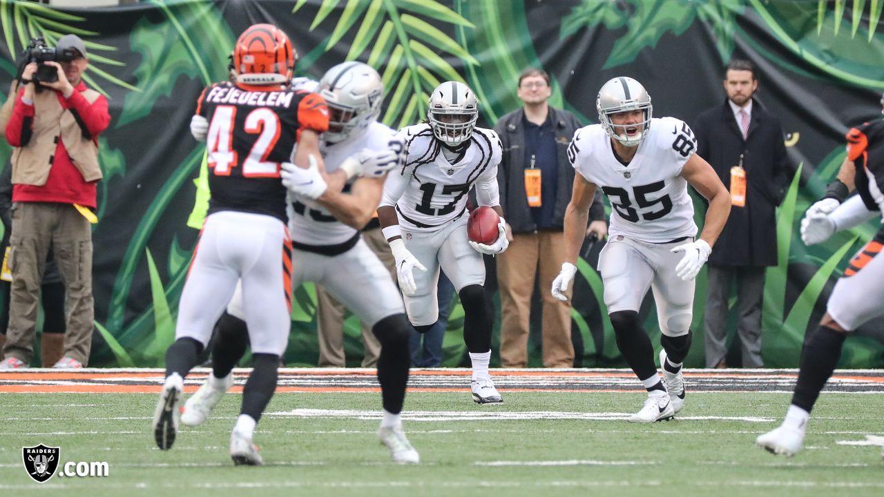 The Oakland Raiders regular season game against the Cincinnati Bengals at Paul Brown Stadium, Sunday, December 16, 2018, in Cincinnati, Ohio.
