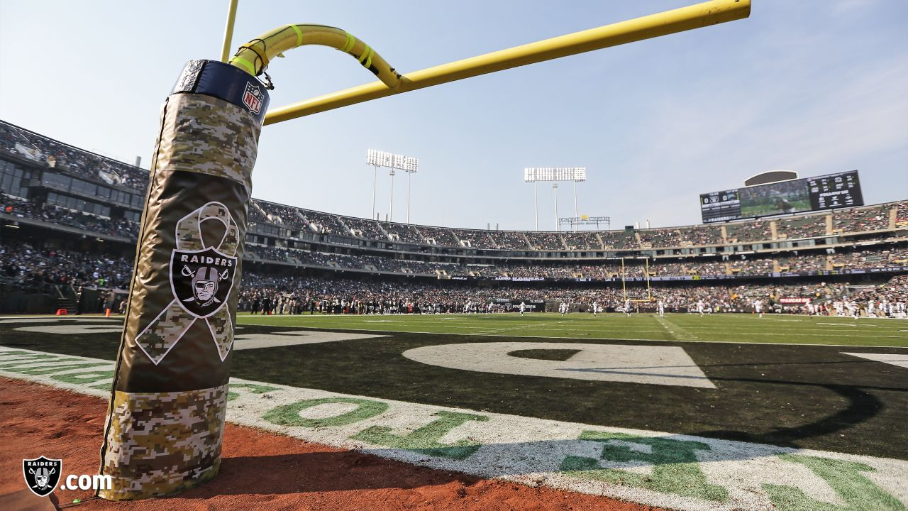 The Oakland Raiders regular season game against the Los Angeles Chargers at Oakland-Alameda County Coliseum, Sunday, November 11, 2018, in Oakland, California.
