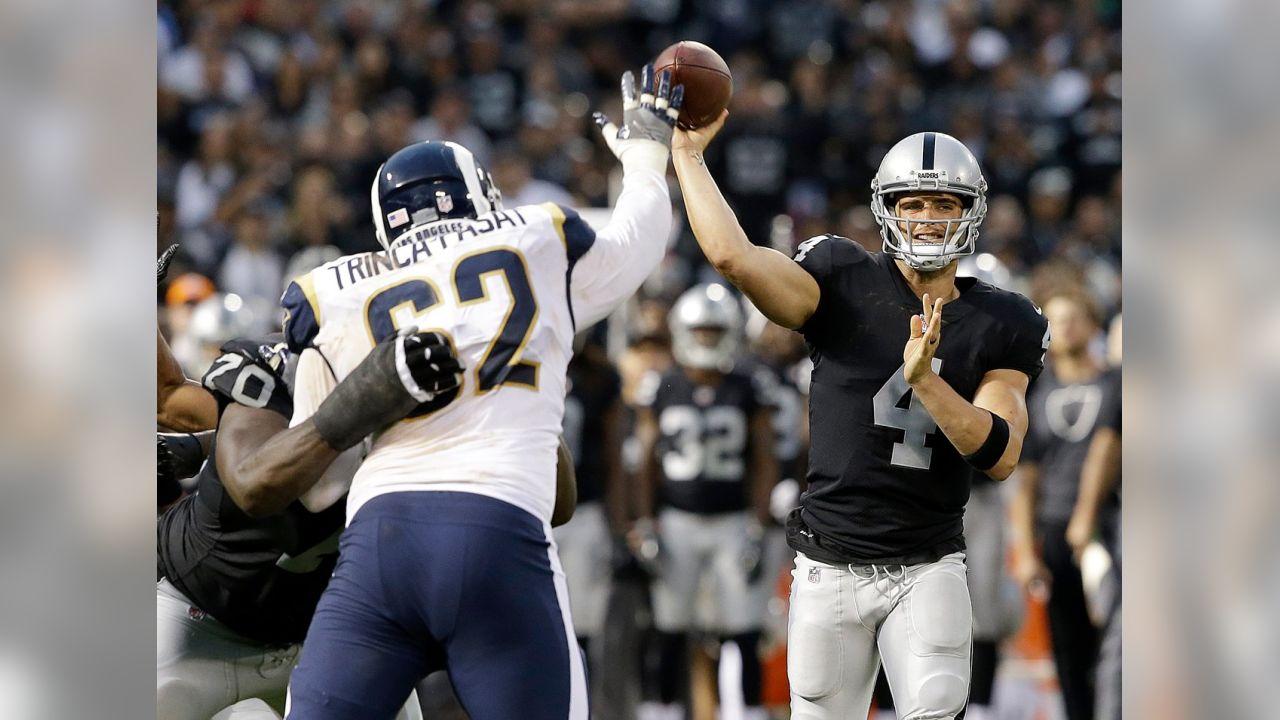 Raiders vs. Rams – Week 1 - Sept. 10 - 7:20 p.m. - Monday Night Football (Rich Pedroncelli/Associated Press)