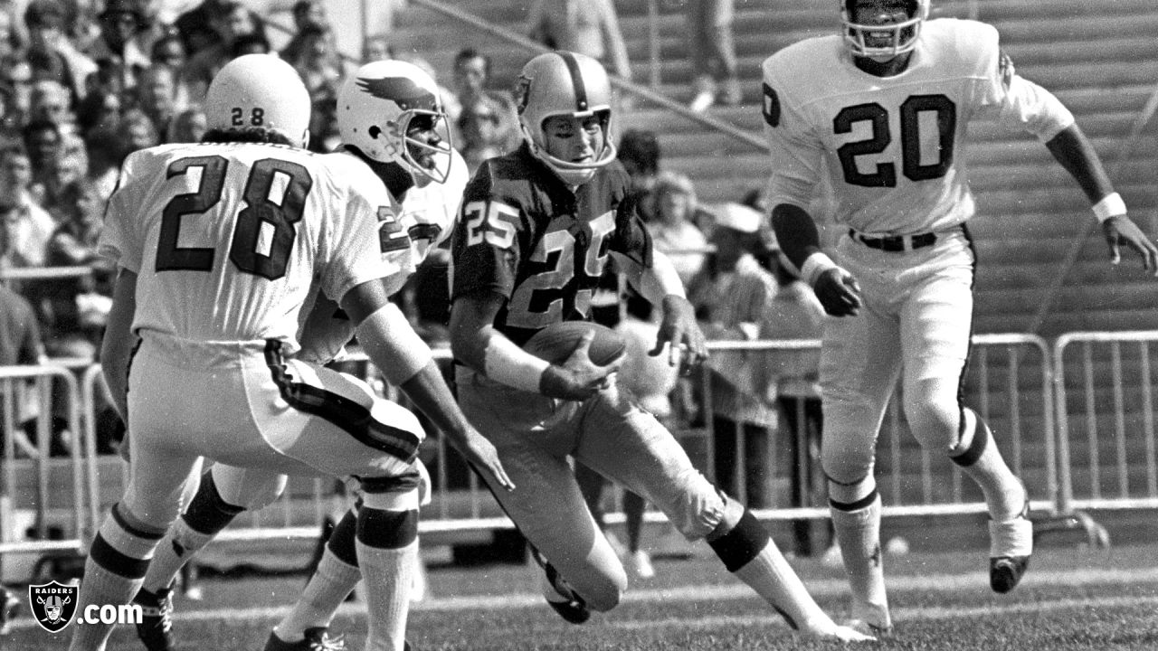 WR Fred Biletnikoff played in 190 games with 160 starts and caught 589 passes for 8,974 yards and 76 TDs. He was named MVP of Super Bowl XI and was later enshrined in the Pro Football Hall of Fame in 1988.