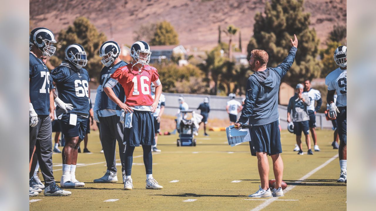 Check out some of the best shots from practice leading up to the Rams' match-up against the Seattle Seahawks.