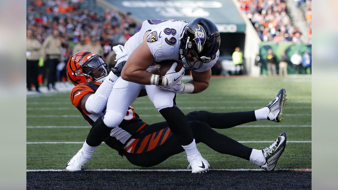 Baltimore Ravens tight end <a rel=