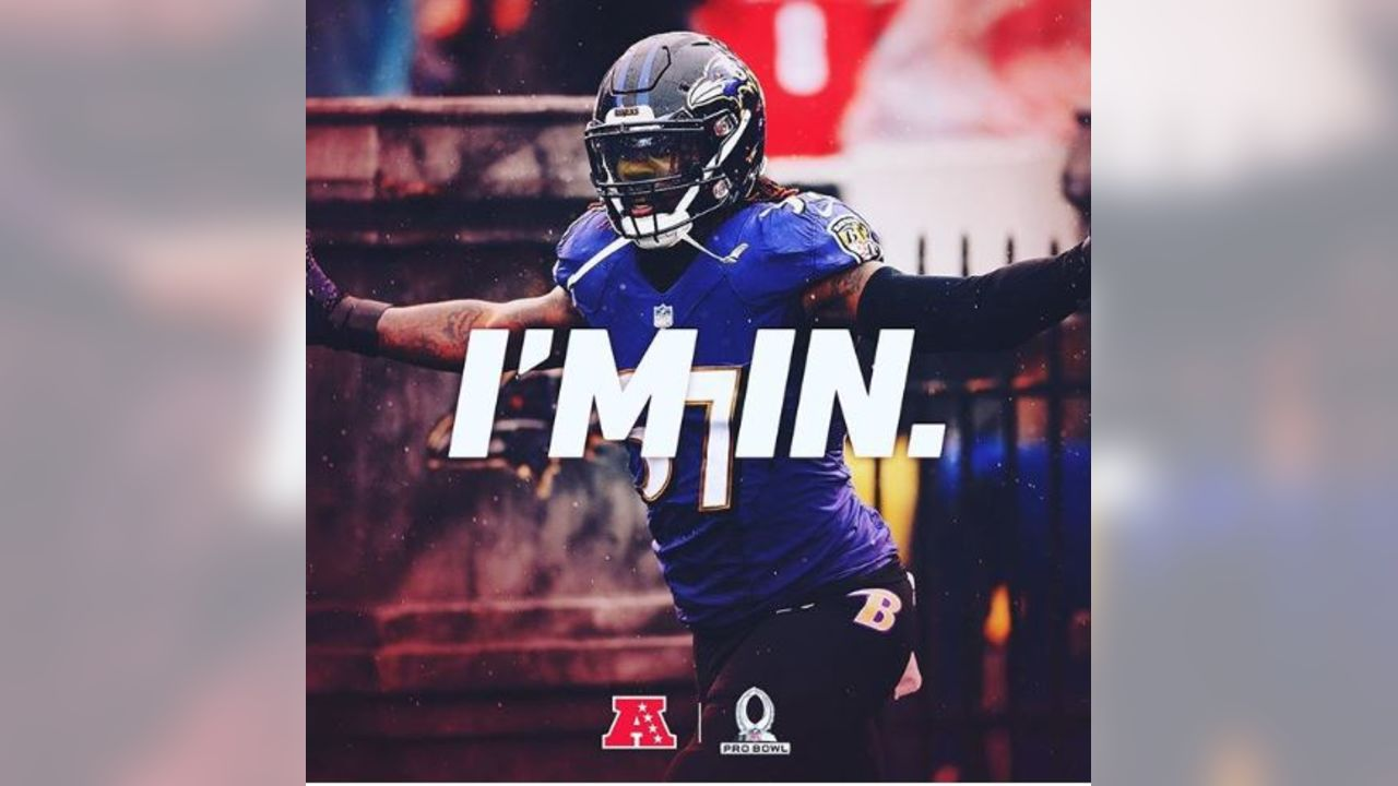 @mosley32rtr (C.J. Mosley) Ayeeeee 4 out of 5! Thank you everyone that voted for me, always humble to play this game! Couldn't do it without my great teammates, coaches, and @ravens organization! Now let's make this playoff push 💪🏾 #ravensflock 💰📄🖋👀