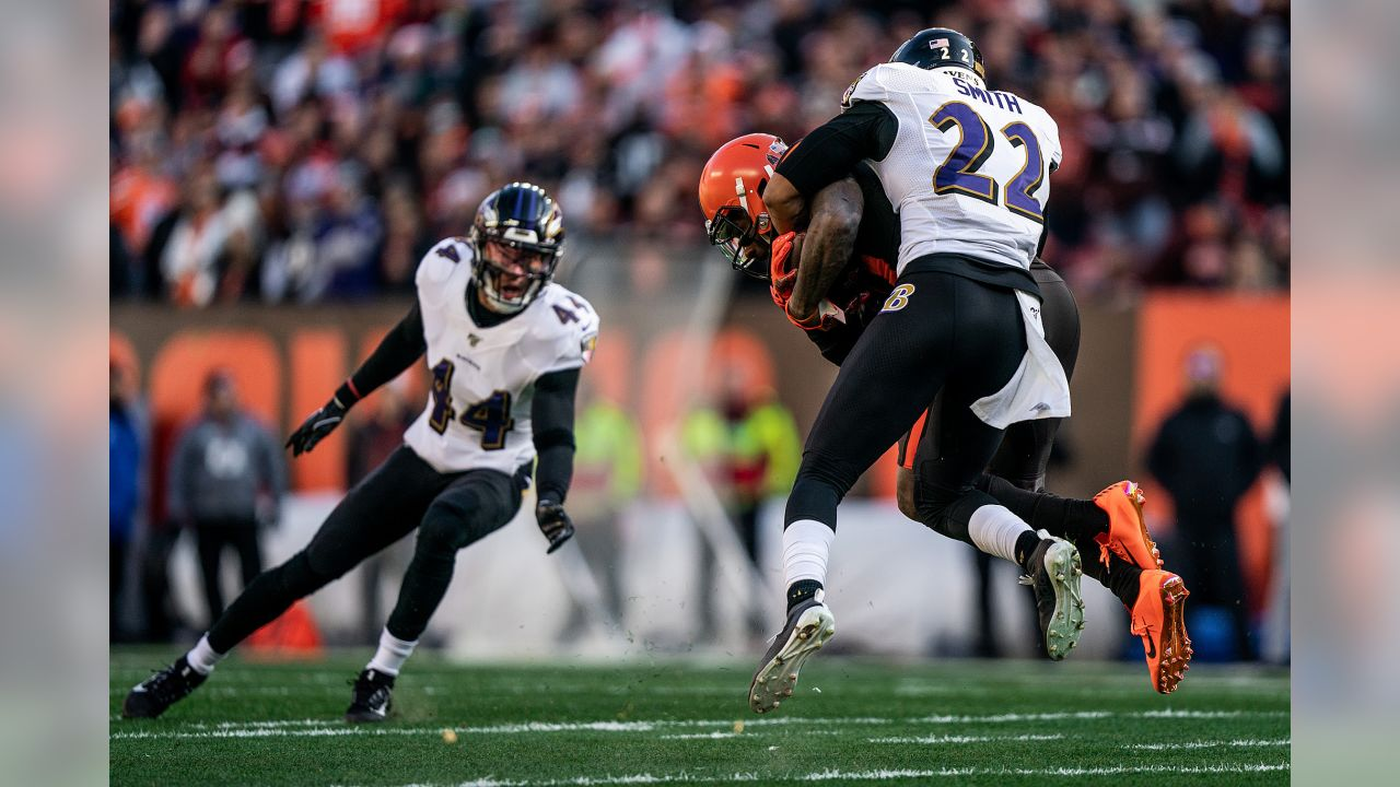 The Baltimore Ravens defeated the Cleveland Browns by a score of 31-15 at FirstEnergy Stadium on December 22, 2019 in Cleveland, OH.