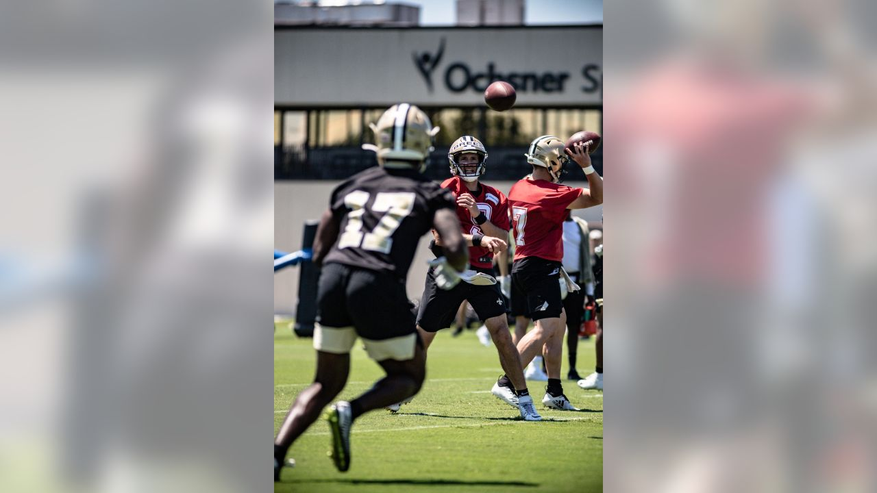 New Orleans Saints hold Day 3 of Minicamp presented by Verizon on June 13, 2019 at Ochsner Sports Performance Center in Metairie, Louisiana.