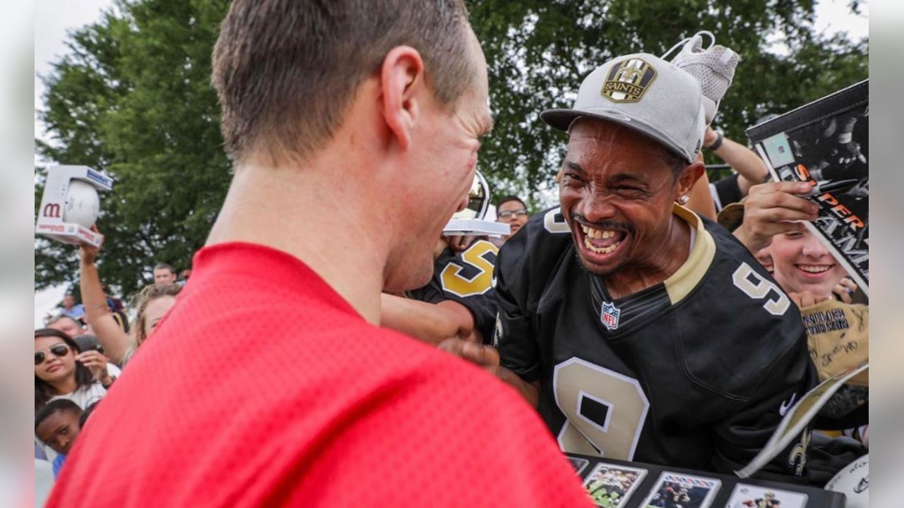 **Drew Brees:** The Who Dat Nation! Greatest fans in the world!!