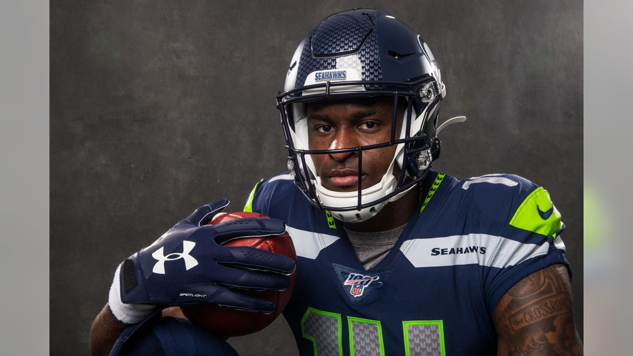 Seattle Seahawks wide receiver DK Metcalf  5/18/19 8:37:01 AM   (Ben Liebenberg/NFL)