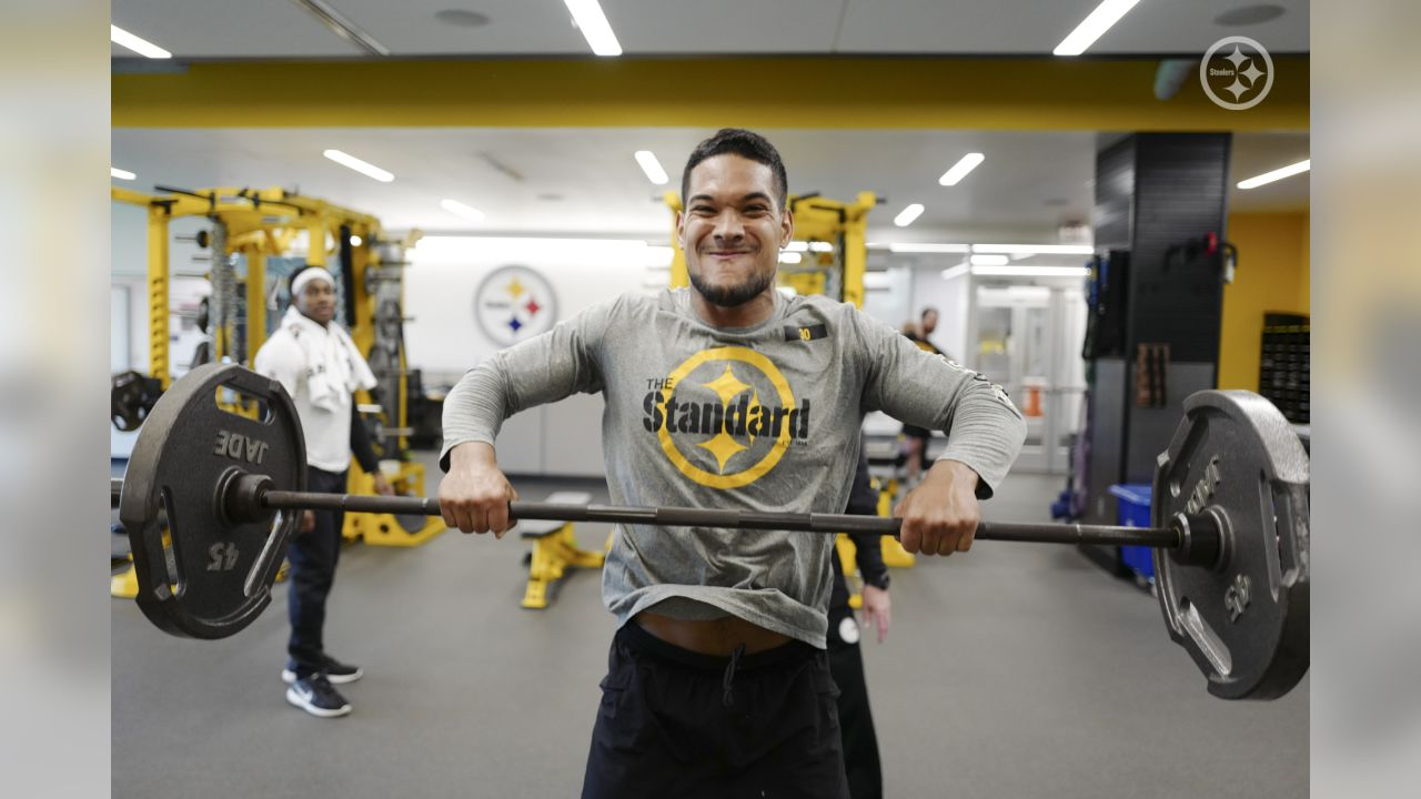The Pittsburgh Steelers got underway with Phase One of the voluntary offseason workouts at the UPMC Rooney Sports Complex.