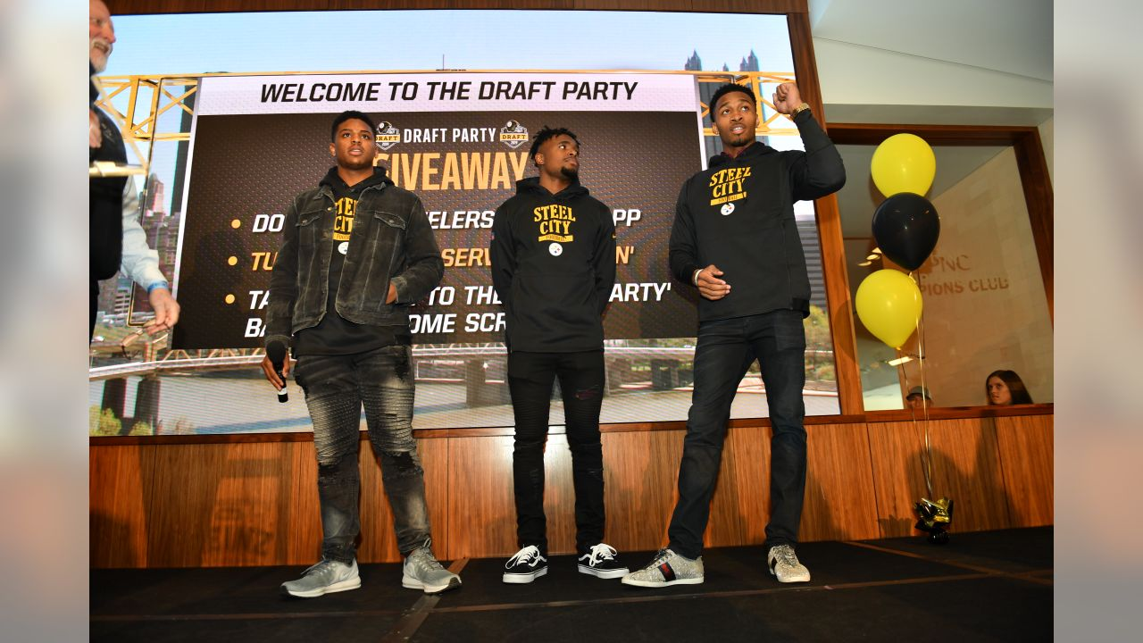 The Pittsburgh Steelers hold a 2019 Draft Party at Heinz Field.