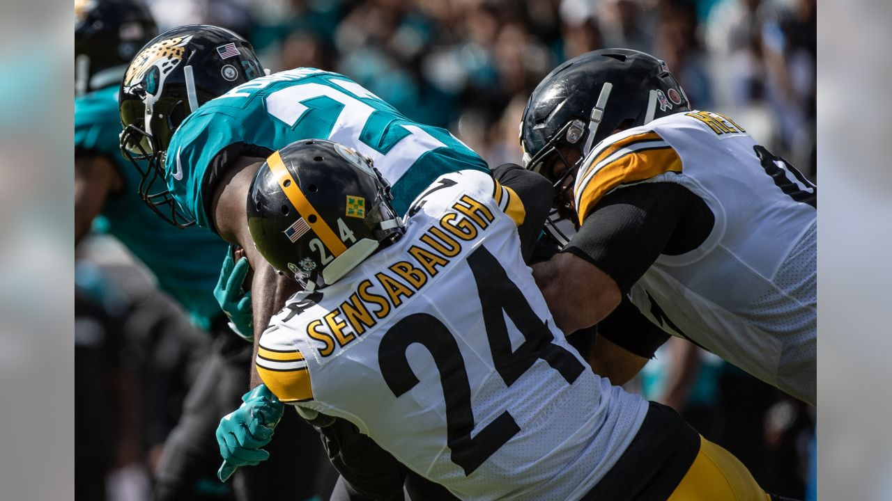 A 2018 Regular Season game between the Pittsburgh Steelers and the Jacksonville Jaguars on Sunday, November 18, 2018.
