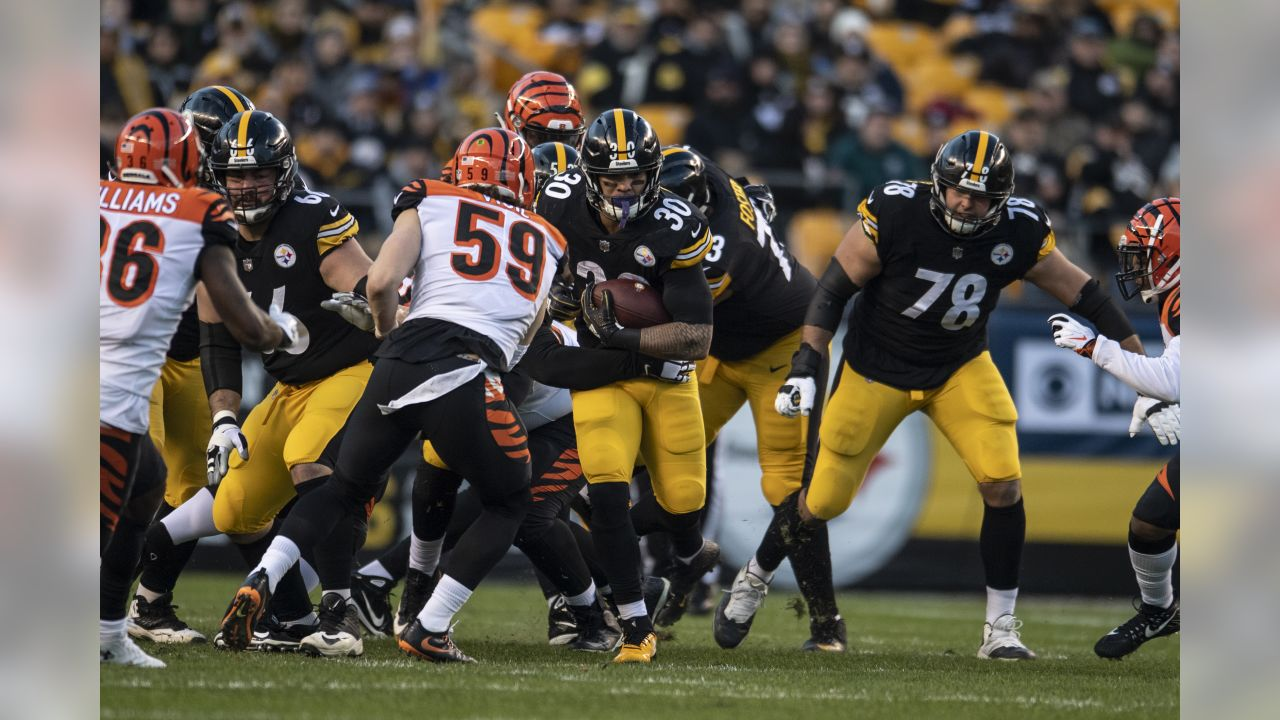 A 2018 Regular Season game between the Pittsburgh Steelers and the Cincinnati Bengals on December 30, 2018.