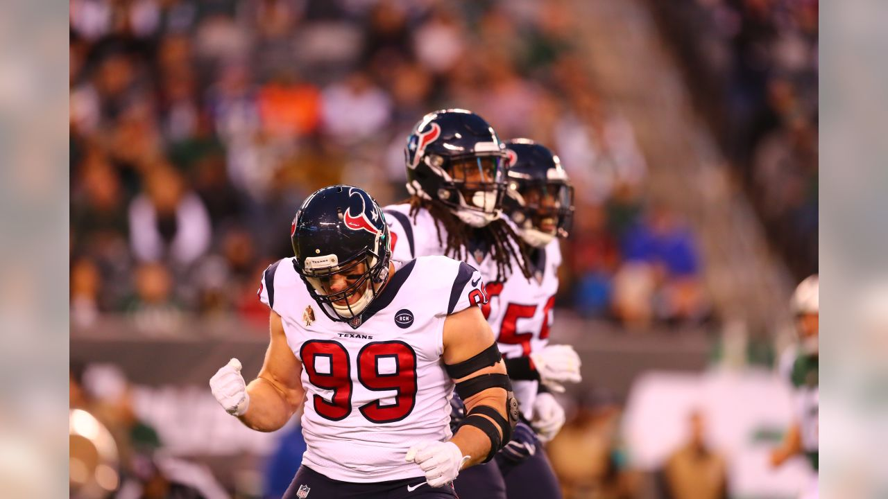 An image from the Dec. 16, 2018 regular season away game against the New York Jets.  The Texans won 29-22.