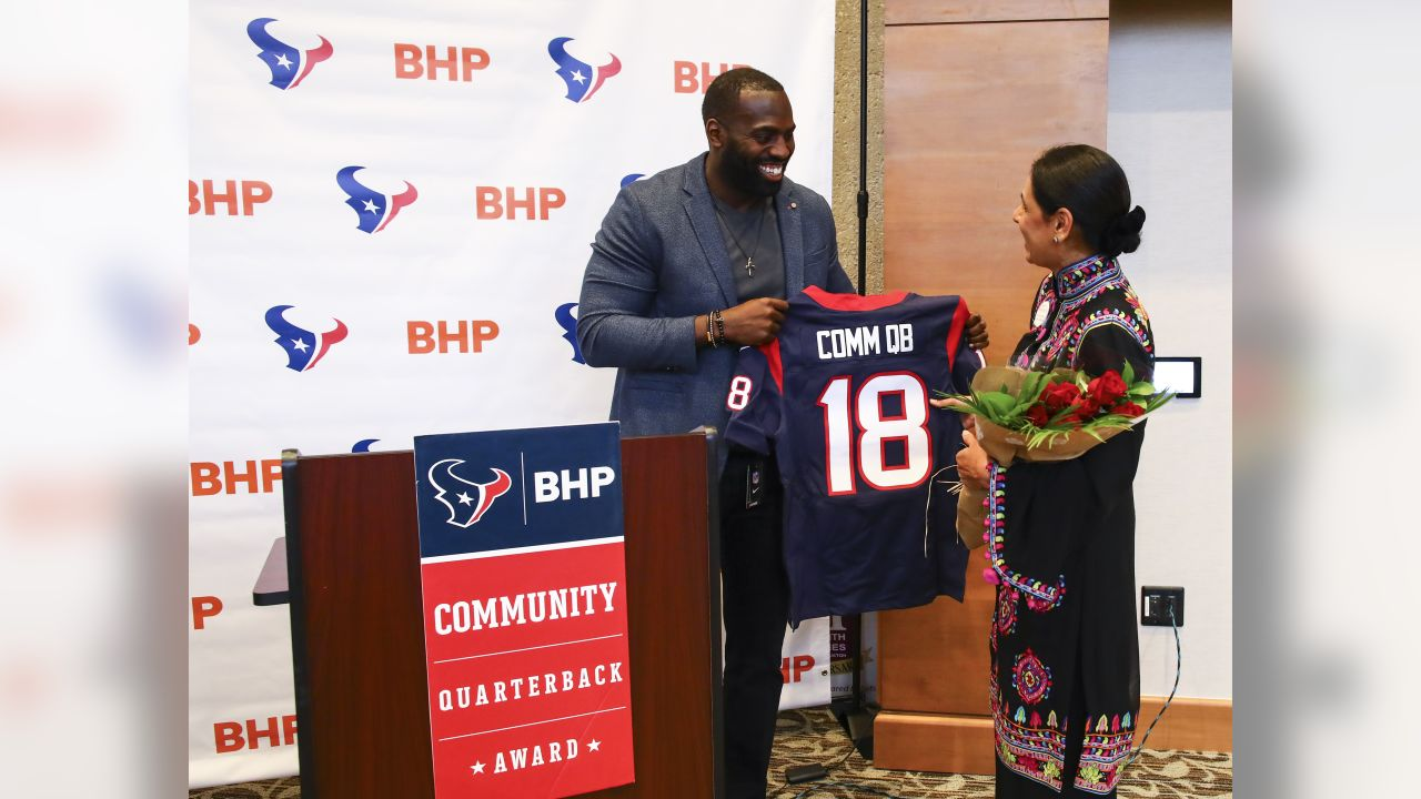 An image from the April 16, 2019 BHP Community Quarterback Award Reception.