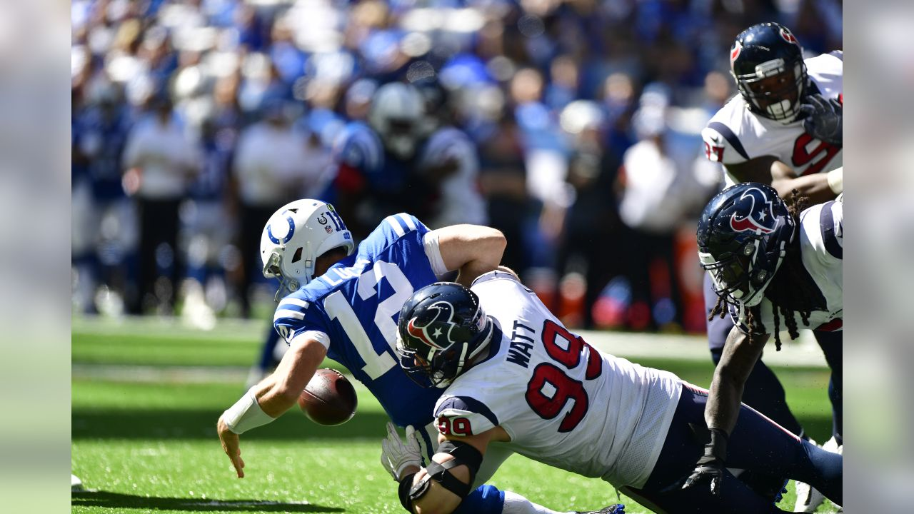 An image from the Sept. 30, 2018 regular season away game against the Indianapolis Colts.  The Texans won 37-34 in overtime.