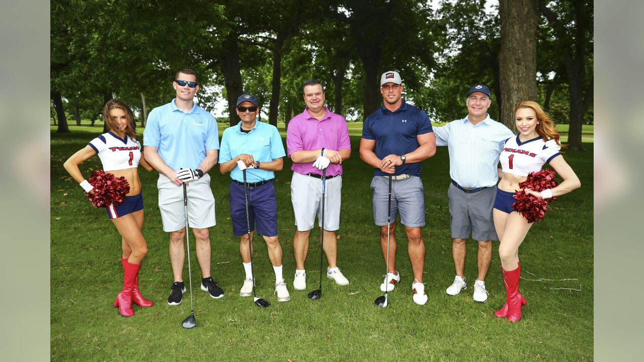 An image from the May 6, 2019 Houston Texans Charity Golf Classic at the Shadow Hawk Golf Club.