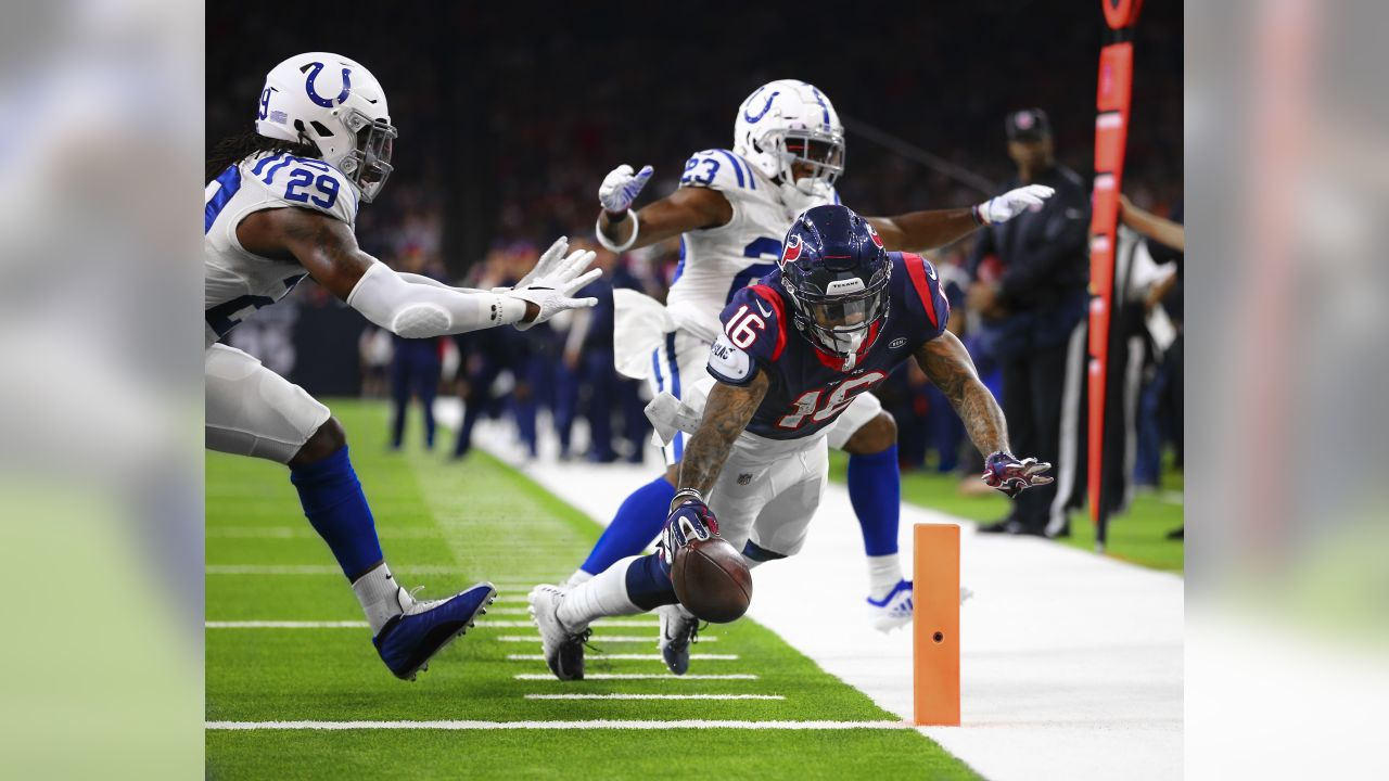 An image from the Jan. 5, 2019 Wildcard game against the Indianapolis Colts.  The Texans lost 7-21.