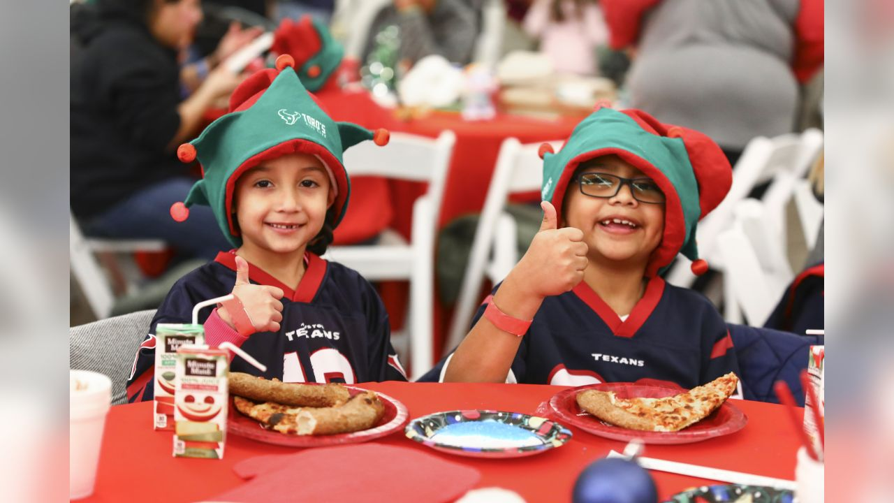An image from the Dec. 19, 2018 TORO's Kids Club Holiday Party at the Houston Zoo.