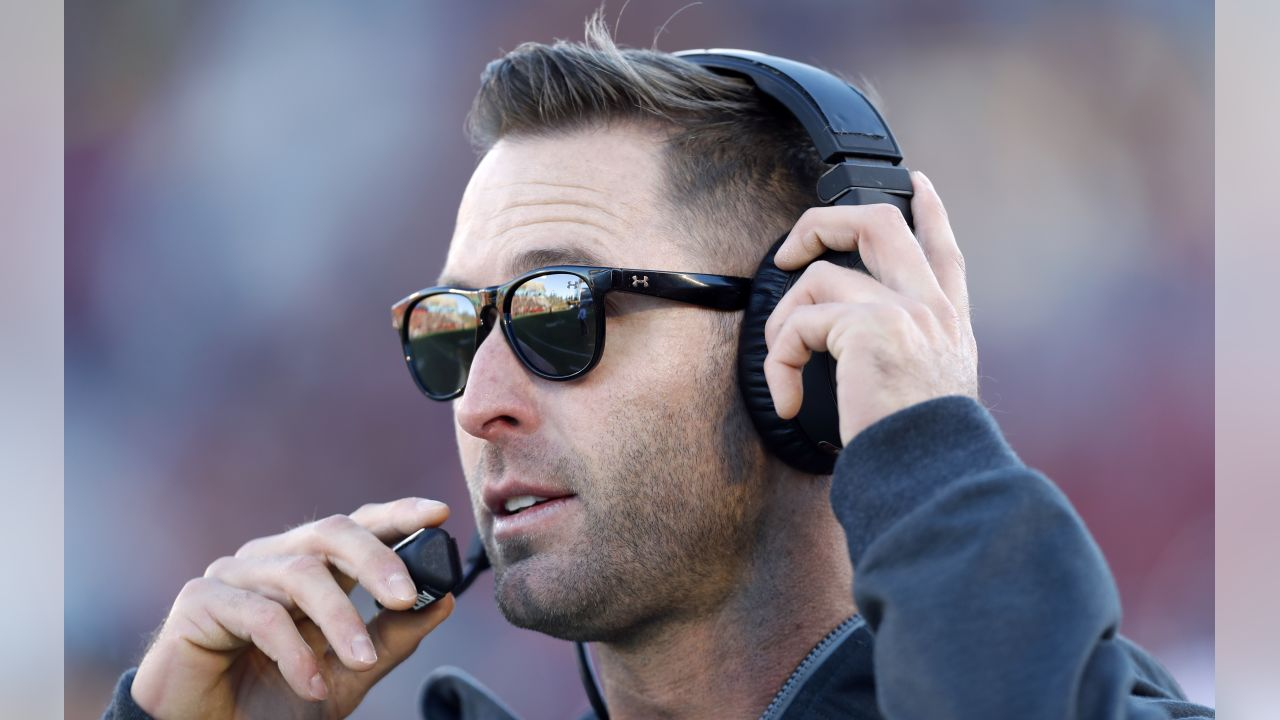 Texas Tech head coach Kliff Kingsbury watches from the sideline during the first half of an NCAA college football game against Iowa State, Saturday, Nov. 19, 2016, in Ames, Iowa.