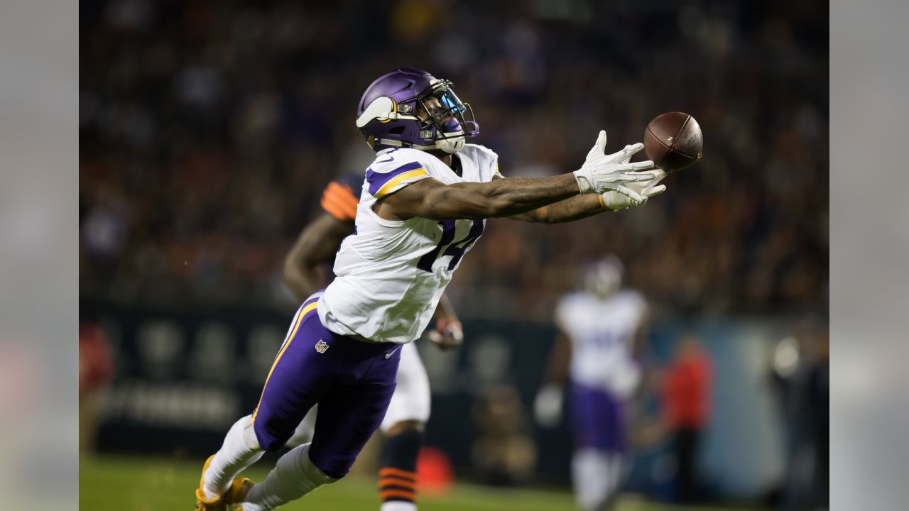 An image from the Oct. 31, 2016  away game against the Chicago Bears.  The Vikings lost 10-20.