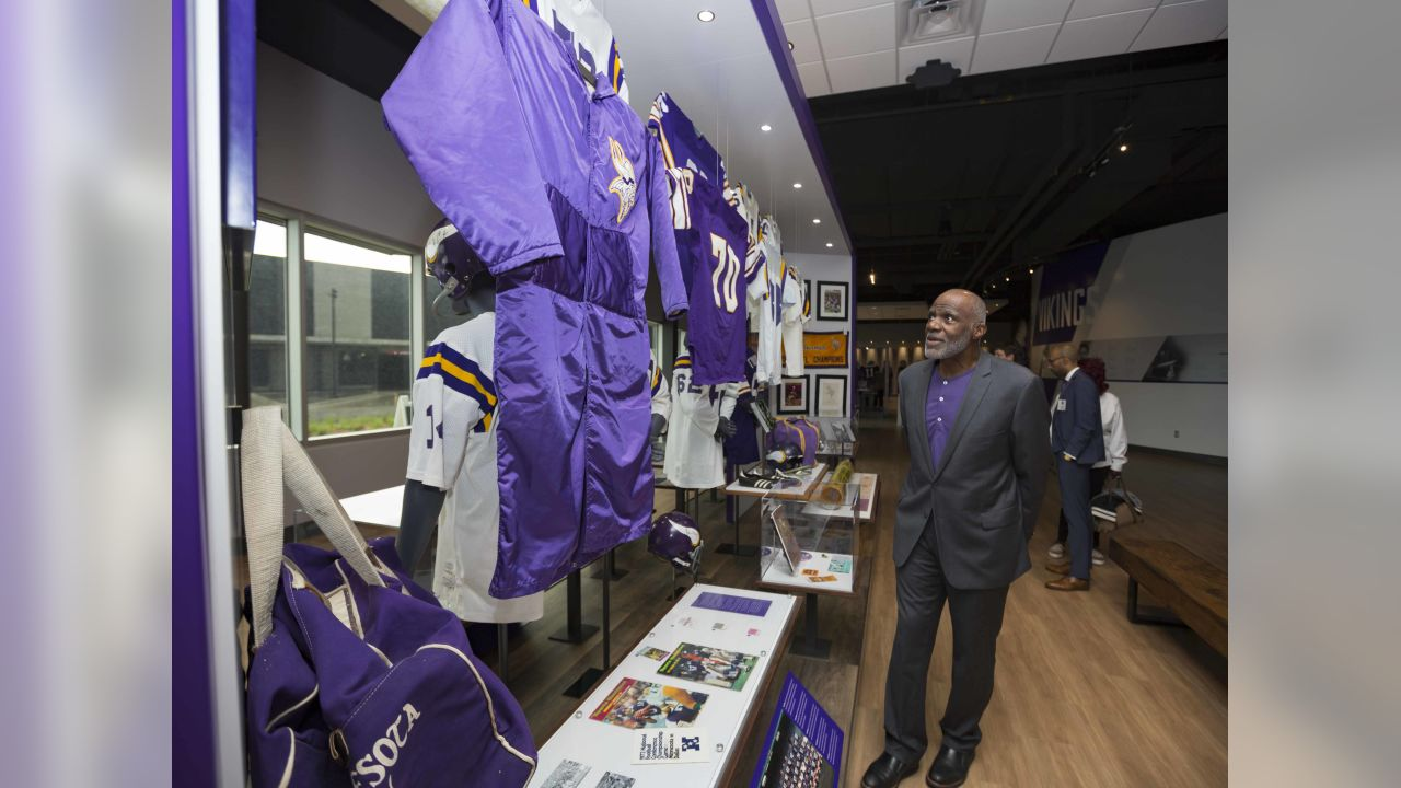 An image from July 20, 2018 of the Vikings Museum legends opening held at TCO Performance Center in Eagan, MN.