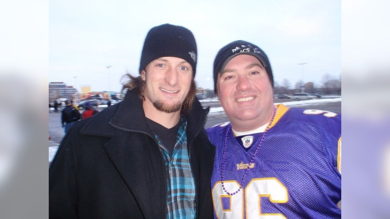 Josh Goolsbee enjoyed connecting with Brian after games outside of the Metrodome.