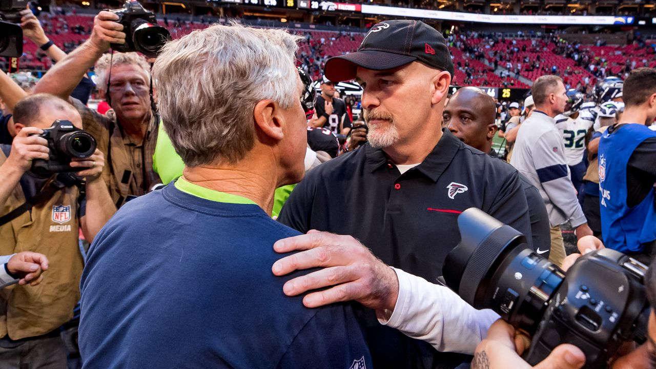 Through The Years Atlanta Falcons Vs Seattle Seahawks