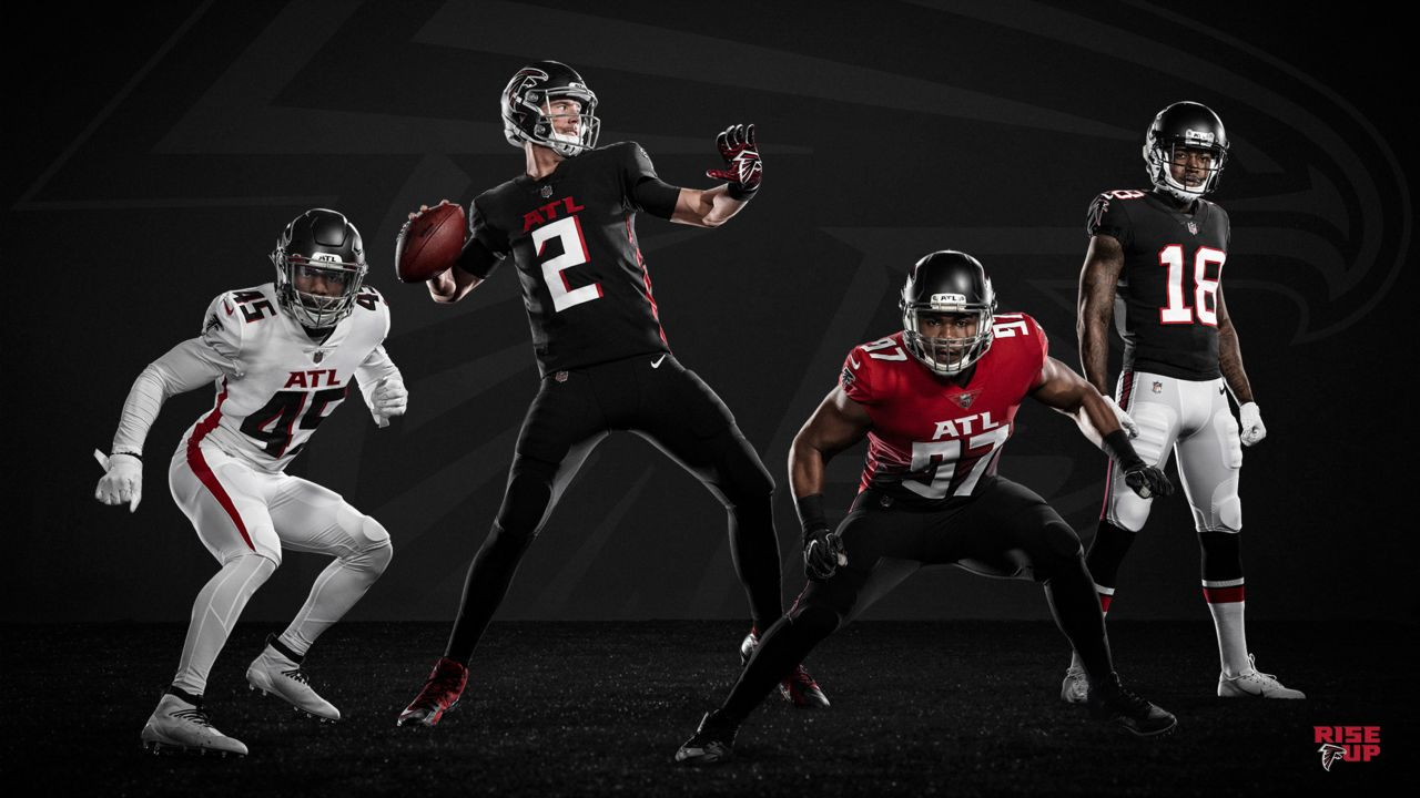 Atlanta Falcons Go Back To Black Unveil New Uniforms