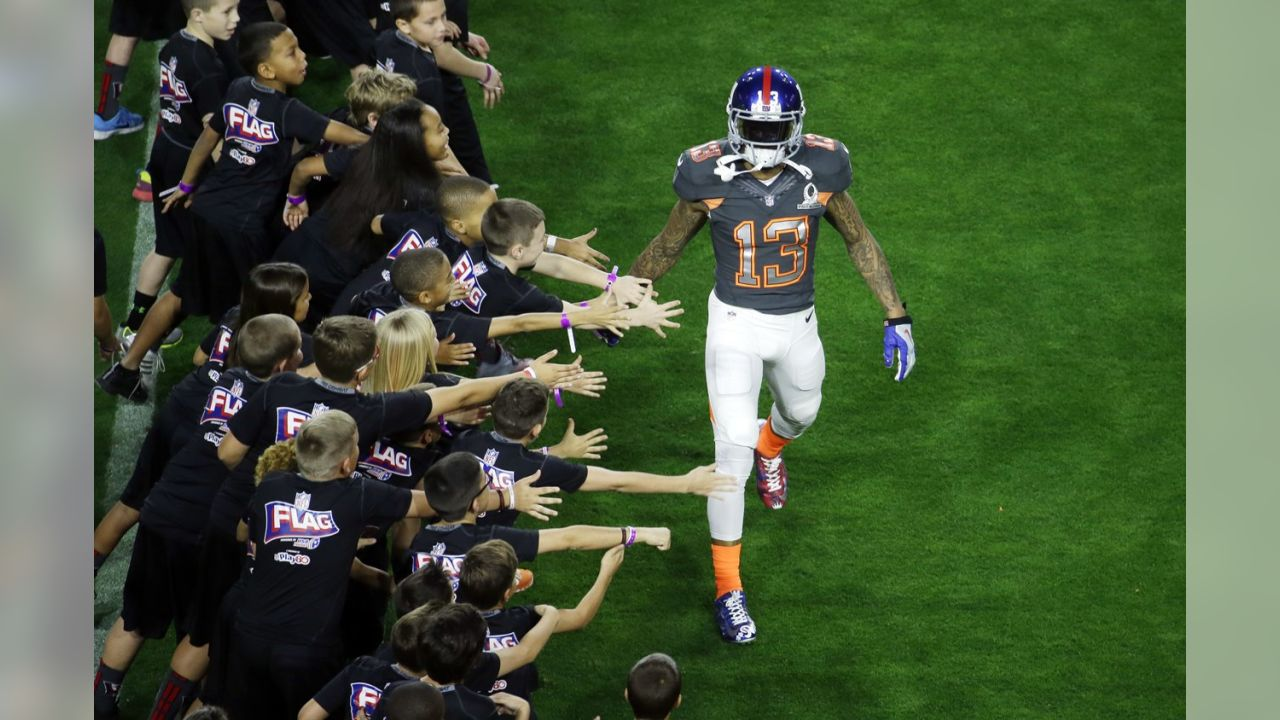 Odell Beckham Jr. at the Pro Bowl